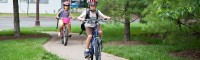 Kids Cycle on Sidewalks to Bypass Personal Injury
